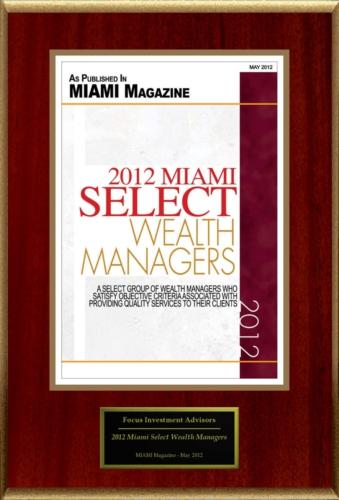 Marcelo Castro Alves - Miami Magazine 2012 Selecte Wealth Managers